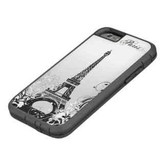 Eiffel Tower Paris B/W  Tough Xtreme iPhone 6 Case