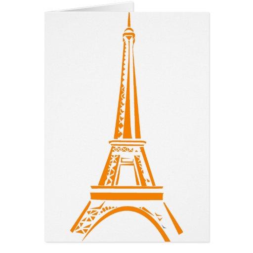 Eiffel Tower-Paris Card