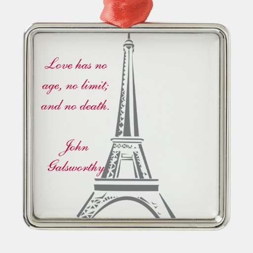 Eiffel Tower-Paris Christmas Tree Ornament
