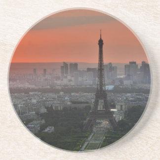 Eiffel Tower Paris Europe Travel Drink Coaster