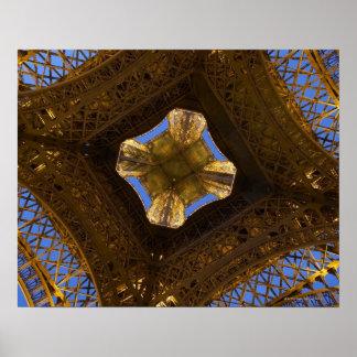 Eiffel Tower, Paris, France 2 Poster
