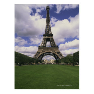 Eiffel Tower, Paris, France 3 Postcard