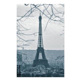 Eiffel Tower Paris France Customized Stationery