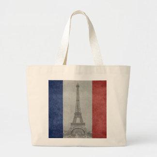 Eiffel tower, Paris France Jumbo Tote Bag
