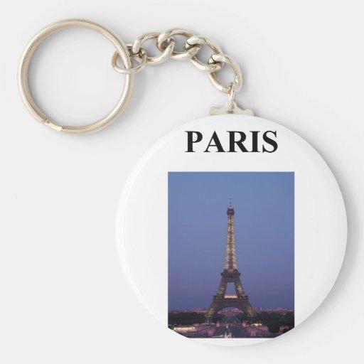 eiffel tower paris france keychains