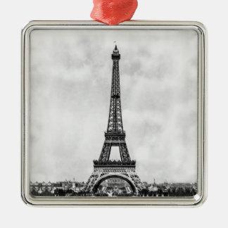 Eiffel Tower Paris France Metal Ornament