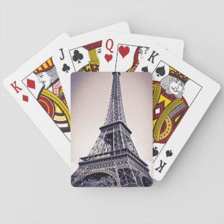 Eiffel tower, Paris, France Poker Deck