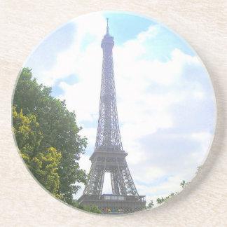 Eiffel Tower, Paris France Sandstone Coaster