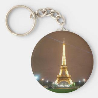 Eiffel Tower Paris France - Springtime Vacation Keychains