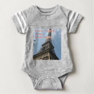 Eiffel Tower Paris France Summer 2016 French Baby Bodysuit