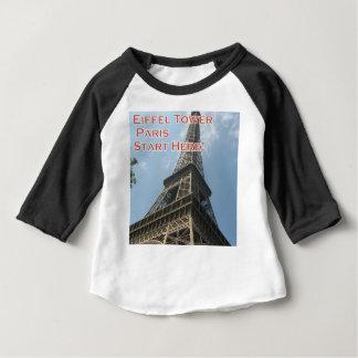 Eiffel Tower Paris France Summer 2016 French Baby T-Shirt