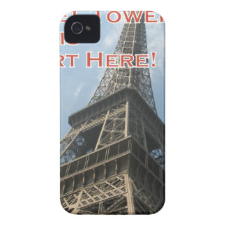 Eiffel Tower Paris France Summer 2016 French iPhone 4 Cover