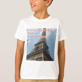 Eiffel Tower Paris France Summer 2016 French T-Shirt