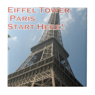 Eiffel Tower Paris France Summer 2016 French Tile