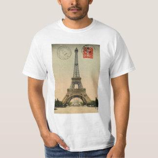 Eiffel Tower, Paris, France, Vintage Retro T-Shirt