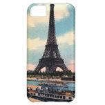 Eiffel Tower Paris France Vintage Travel iPhone 5C Cover