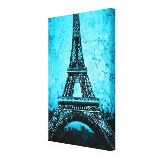 Eiffel Tower Paris France wrapped canvas art