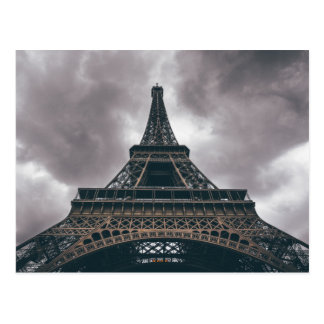 Eiffel Tower Paris French Travel Postcard