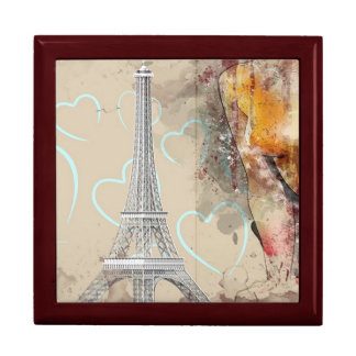 Eiffel Tower Paris Gift Box