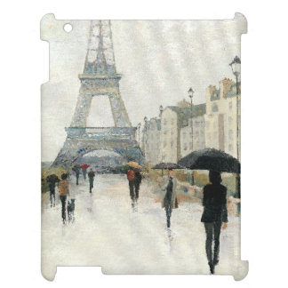 Eiffel Tower | Paris In The Rain Case For The iPad 2 3 4