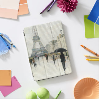 Eiffel Tower | Paris In The Rain iPad Air Cover