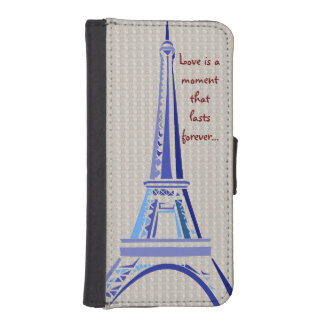 Eiffel Tower-Paris iPhone SE/5/5s Wallet Case