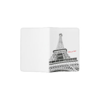 Eiffel Tower - Paris, je t'aime Passport holder