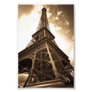 Eiffel tower Paris Photo Print