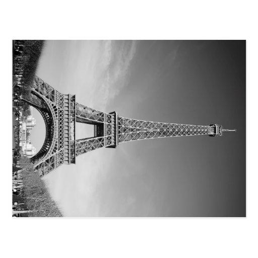Eiffel Tower Paris Post Card
