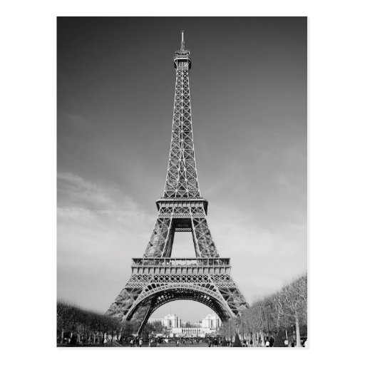 Eiffel Tower Paris Postcards