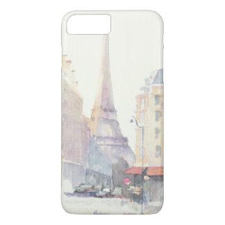 Eiffel Tower | Paris Watercolor iPhone 8 Plus/7 Plus Case