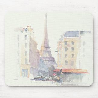 Eiffel Tower | Paris Watercolor Mouse Pad