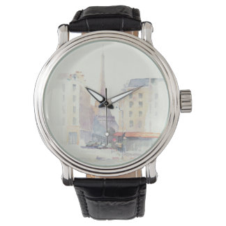 Eiffel Tower | Paris Watercolor Watch