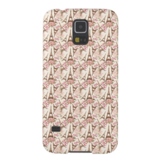 Eiffel Tower Pattern Galaxy S5 Cases