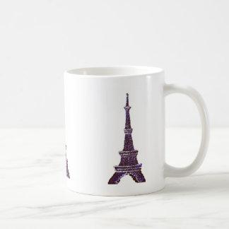 Eiffel Tower Pointillism mug