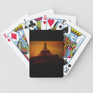 eiffel tower poker deck