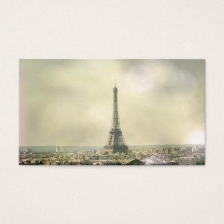 Eiffel Tower Profile Card