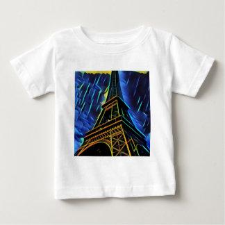 Eiffel Tower Rain Baby T-Shirt