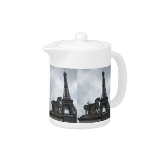 Eiffel Tower Silhouette Small Teapot