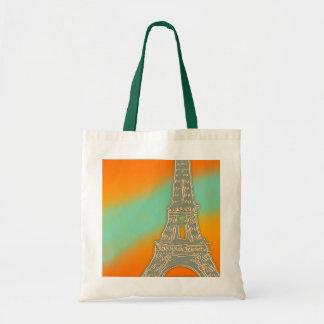 Eiffel Tower Small Tote Bag
