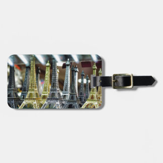 Eiffel Tower Souvenirs Luggage Tag