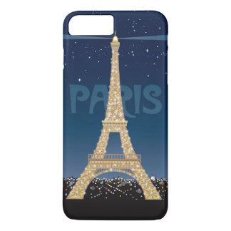 Eiffel Tower Sparkle iPhone 7 Plus Case
