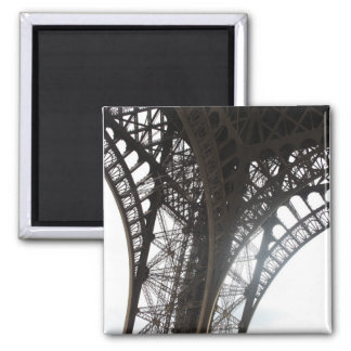 Eiffel Tower Square Magnet