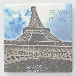 Eiffel Tower Stone Coaster - Customize It!