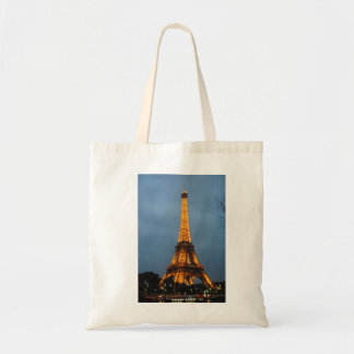 Eiffel Tower Tote Budget Tote Bag