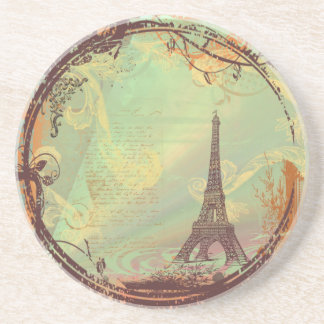 Eiffel Tower Vintage Style Coaster