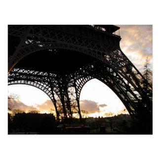 Eiffelturm Postcard