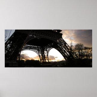 Eiffelturm Poster