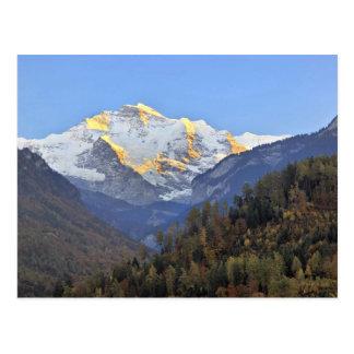 Eiger, Monsch and Jungfrau Postcard