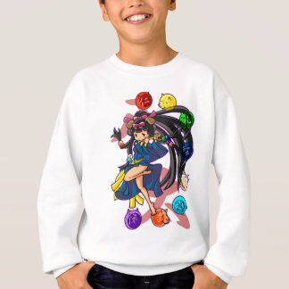 Eight 狗 God 伏 princess English story Nanso Chiba Sweatshirt